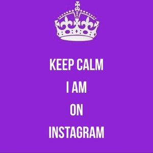 Other - Keep Calm I am on Instagram
